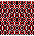 Design seamless hexagon geometric pattern vector image