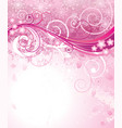 pink of spring vector image vector image