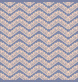 zigzag decor seamless pattern canvas vector image vector image
