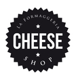 Cheese Shop vintage stamp vector image vector image