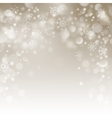Christmas beige background with snowflakes
