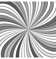 grey abstract psychedelic vortex background from vector image vector image