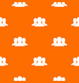 group of people pattern seamless vector image