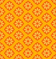 laithai flower texture yellow pattern vector image vector image