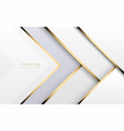 luxury tech background stack white vector image