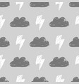 monochrome storm pattern vector image