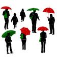 Raining vector image vector image