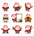 Santa claus set vector | Price: 3 Credits (USD $3)