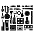 Set of icons cosmetics vector image vector image