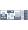 social media marketing campaign brochure template