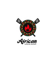african cultural kitchen food and beverage vector image vector image