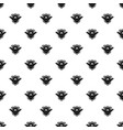 badge quality pattern seamless vector image vector image