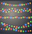 Christmas lights colorful xmas garland