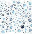 cornflower pattern seamless vector image vector image