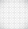Geometric gray seamless pattern vector image vector image