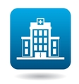 Hospital building icon simple style vector image vector image