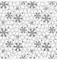 seamless winter pattern background of vector image