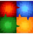 squares abstract vector image vector image