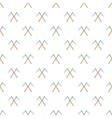 Death scythe pattern cartoon style vector image vector image