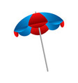 isolated umbrella icon vector image vector image