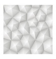 seamless 3d geometric abstract white texture vector image
