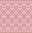 seamless abstract vintage light pink pattern vector image vector image