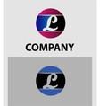 Set of letter L logo icons design template element vector image vector image