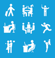 set of people 1 vector image vector image