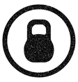 Weight Grainy Texture Icon vector image vector image