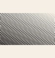 abstract geometric halftone zigzag pattern vector image