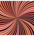brown hypnotic abstract swirl stripe background vector image vector image