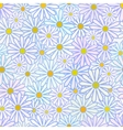 Daisies seamless vector image vector image