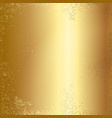 gold foil texture background vector image