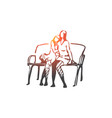 lgbt lesbian couple romantic concept vector image vector image
