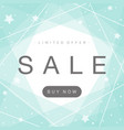 simple and stylish sale background vector image vector image