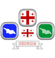 symbol of GEORGIA vector image