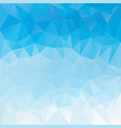 abstract irregular polygon background dky blue vector image vector image