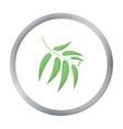 Eucalyptus icon in cartoon style for web vector image vector image