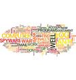 from spyware with love text background word cloud vector image vector image