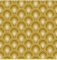 gold scale pattern embossed seamless luxury vector image vector image