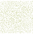 green leaves explosion textile seamless texture vector image vector image
