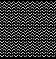 horizontal wavy lines seamless pattern vector image vector image