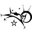 Laika cosmonaut vector image vector image
