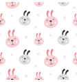 nursery childish seamless pattern background vector image vector image