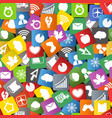 app icons background vector image vector image