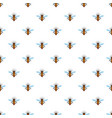 bee queen of insect icon flat style vector image