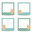 collection of cute text frames collection of cute vector image