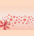 greeting card or invitation vector image vector image