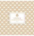 indian geometric golden patternluxury ornament vector image vector image