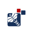 medical app billing vector image vector image